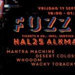 Fuzz 25 stonerfestival bij Hal 25