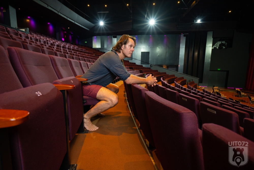 Friso (Ashton Brothers) in theaterzaal