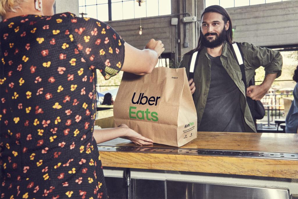 Uber Eats: afhalen bestelling