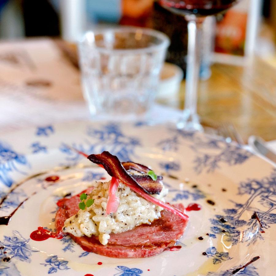 WijnSpijs: salami van gans bij Vito