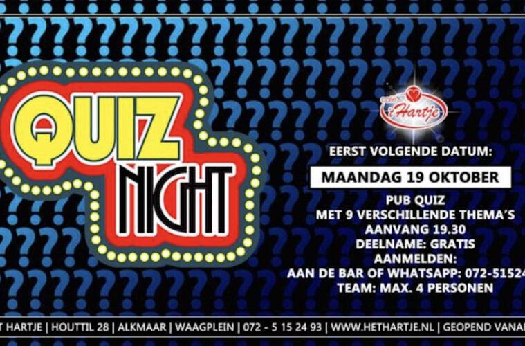 Quiz Night café 't Hartje