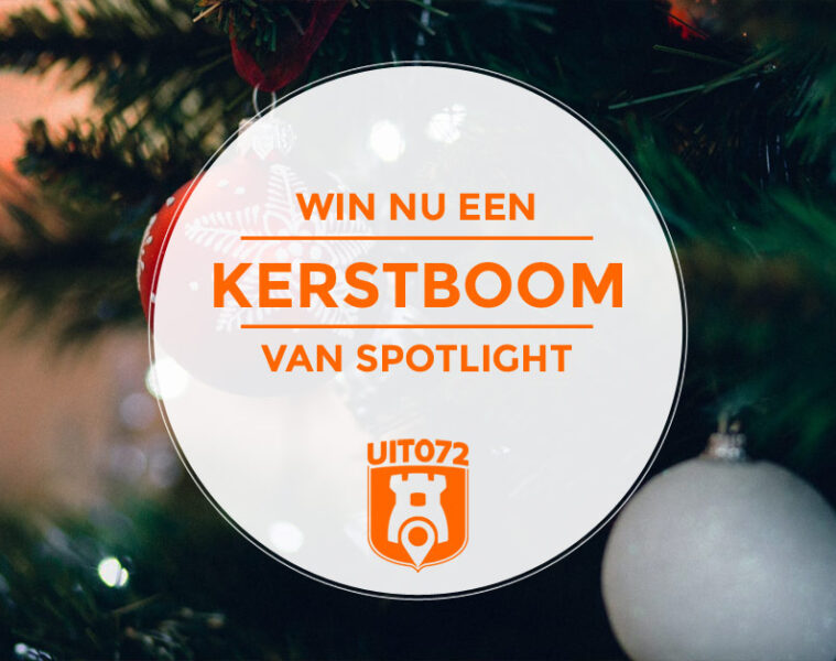 Kerstboom winnen - Spotlight Alkmaar