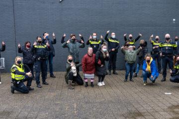 Brownies & downieS steekt politie hart onder de riem