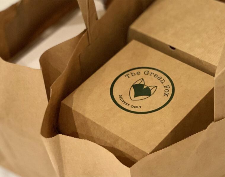 The Green Fox: tasjes bij bezorging