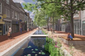 De Laat Alkmaar - model met water