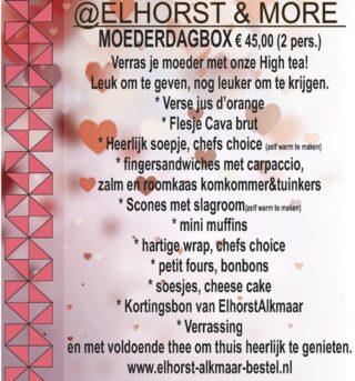 Elhorst Moederdag high tea