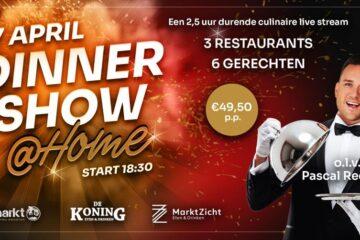 Marktzicht dinnershow @home