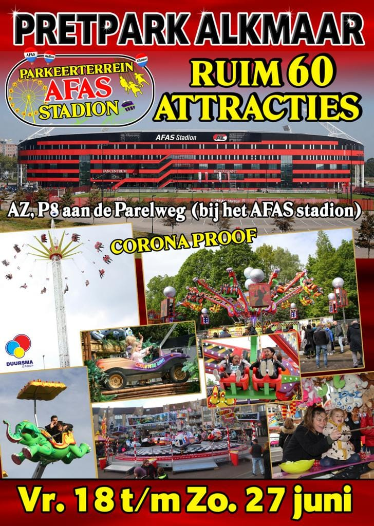 Pretpark Alkmaar: poster