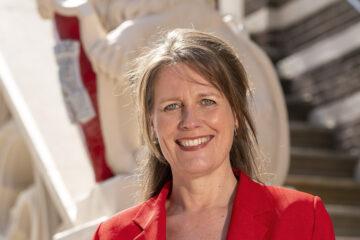 Burgemeester Anja Schouten