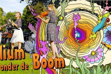 Podium onder de Boom