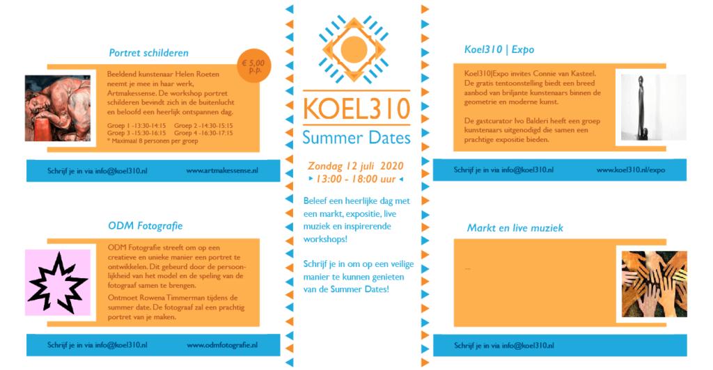 Programma summerdates Koel 310