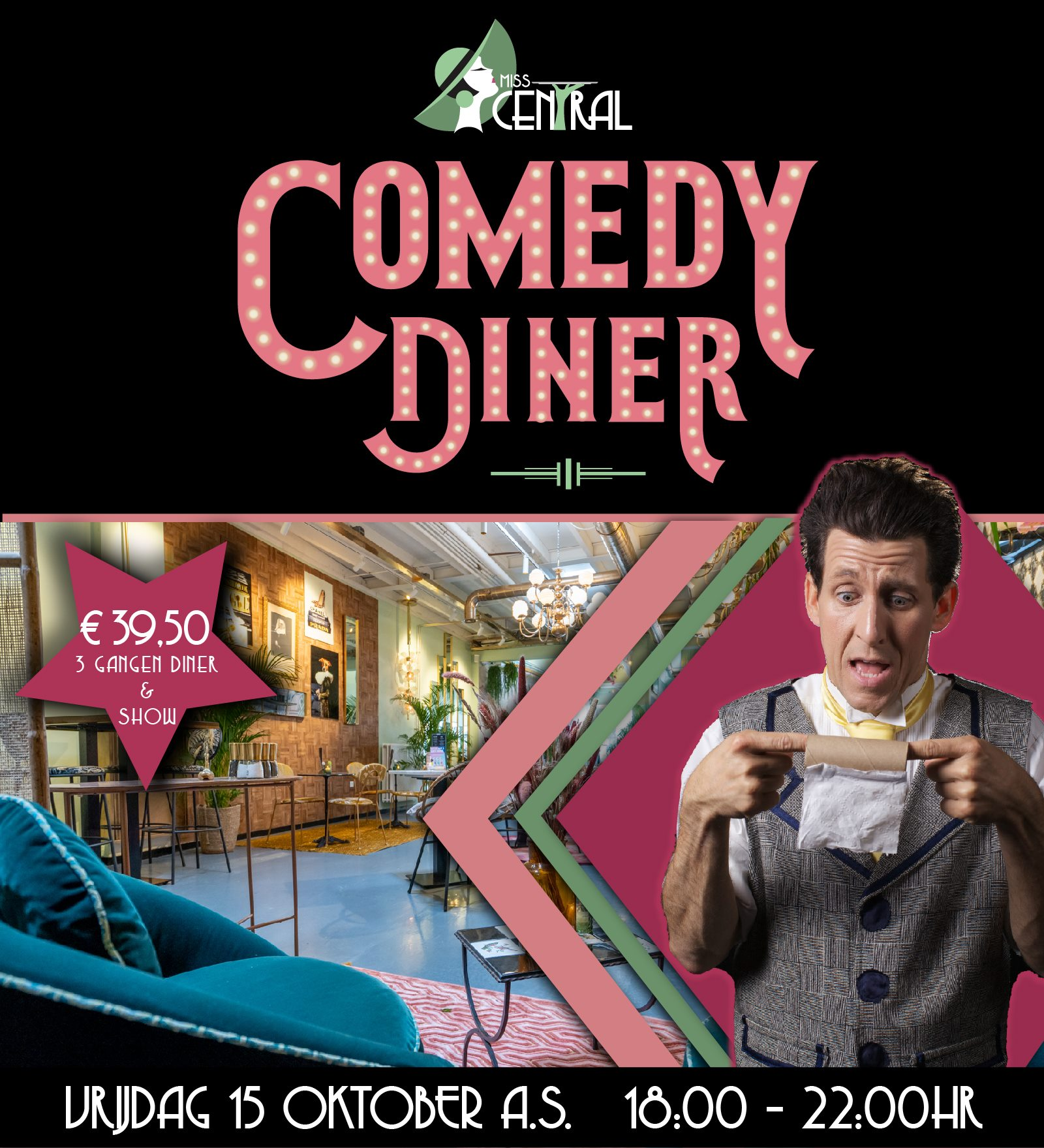 Comedy Diner Miss Central