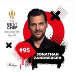 Jonathan Zandbergen (Merlet) in Top 100 chefs van de wereld